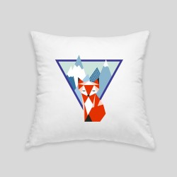 Mountain fox cushion